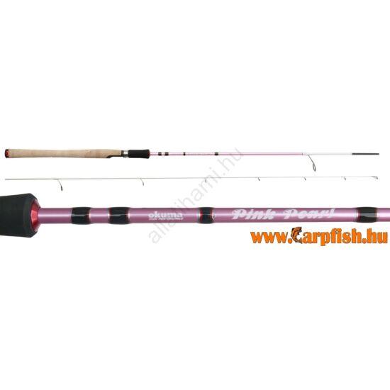 Okuma Pink Pearl pergető bot  2,1 m