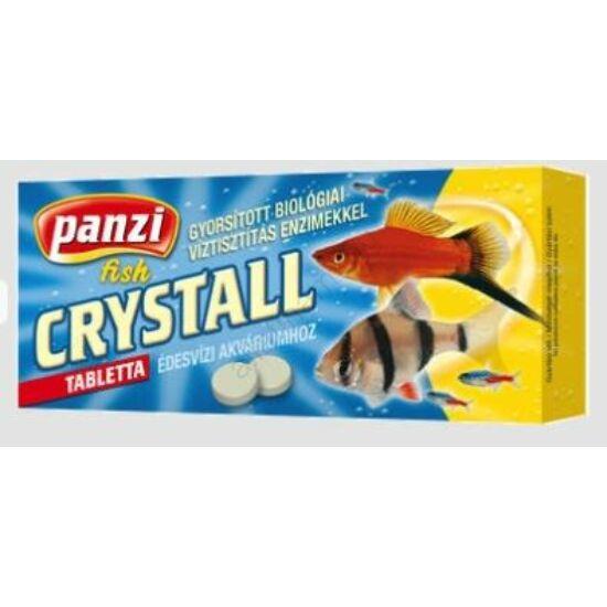 Panzi Crystall akváriumi vízkezelőszer   tabletta 10 db
