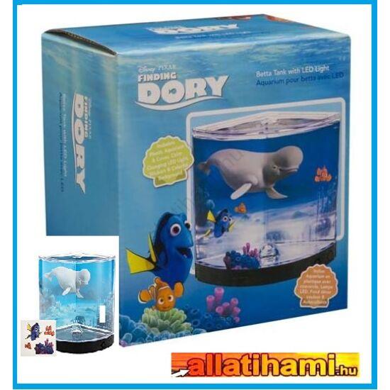 PENN PLAX DORY™ Betta akvárium  1,14l színváltoztató LED világítással