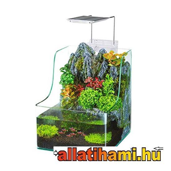 PENN PLAX AQUATERRIUM 7l LED világítással és szűrővel halak és növények számára