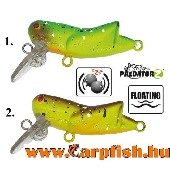 Predator-Z Grasshopper Lebegő wobbler 4,5 cm / 2,5g