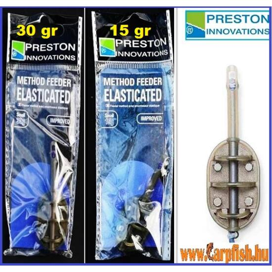 PRESTON Gumizott method feeder kosár – Small