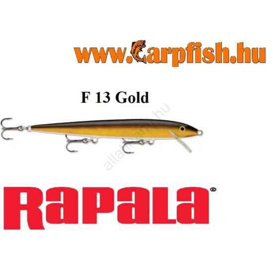 RAPALA Original Floater - 13cm / F13 Gold (F13G)