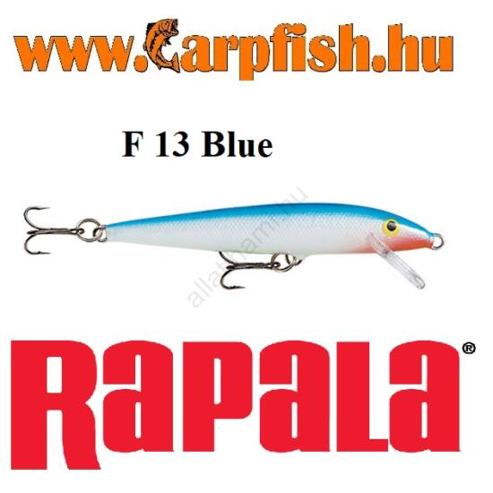 RAPALA Original Floater - 13cm / F13  Blue (F13B)