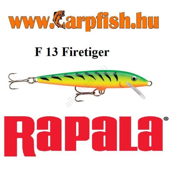 RAPALA Original Floater - 13cm / F13  Firetiger (F13FT)