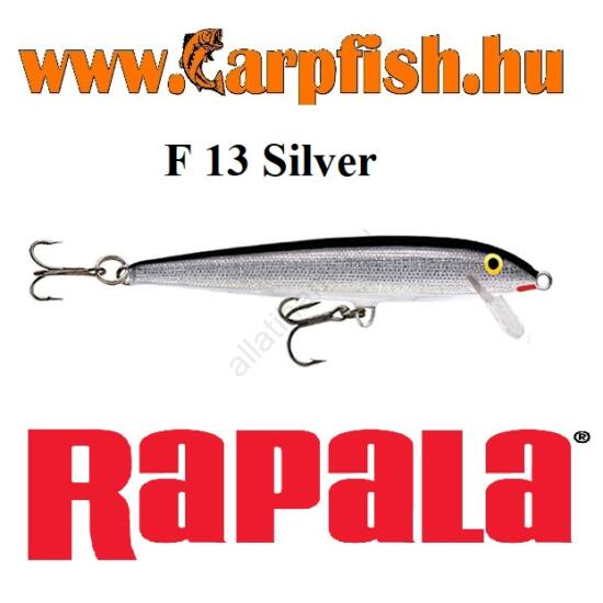 RAPALA Original Floater - 13cm / F13  Silver (F13S)
