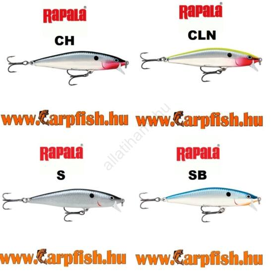 Rapala Flat Rap 8 cm (FLR08) wobler