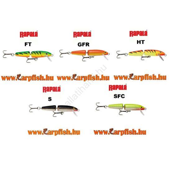 Rapala Jointed 11 cm(felúszó)  J11 wobler