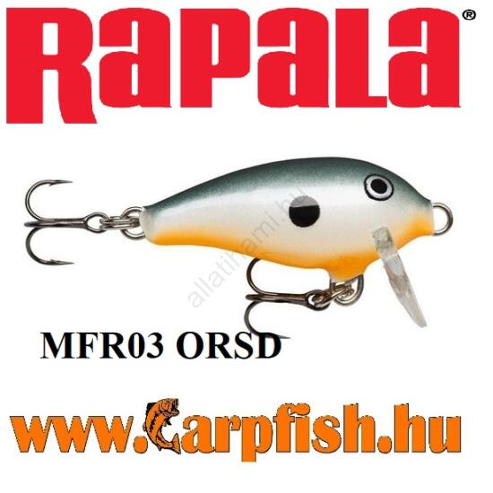 Rapala Mini Fat Rap MFR03 ORSD