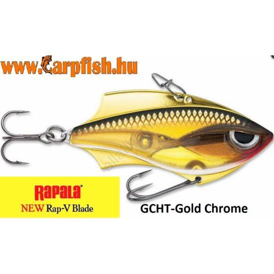 Rapala V Blade GCHT-Gold Chrome Tiger