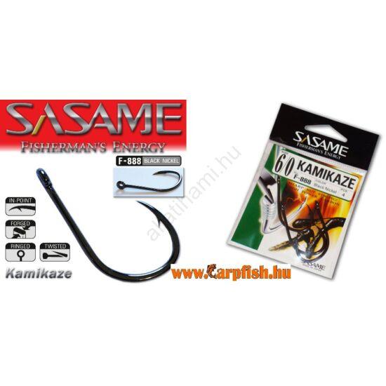 SASAME Kamikaze füles harcsázó horog - Black Nickel