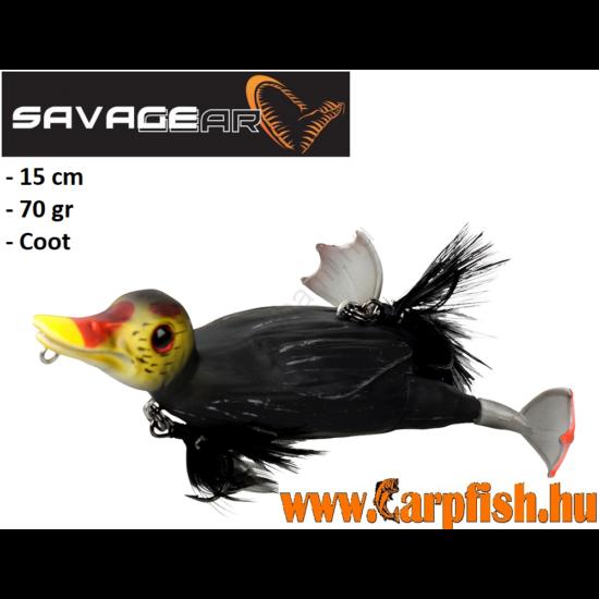 Savage Gear 3D Suicide Duck Kiskacsa Imitáció 150 15Cm 70G 03-Coot