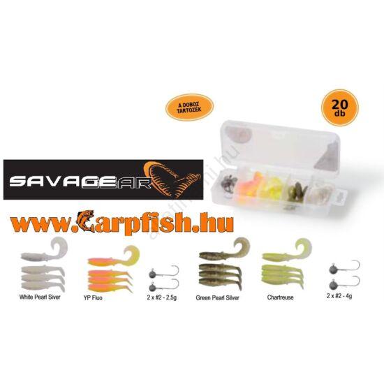 SAVAGE GEAR Cannibal Box Kit XS 20pcs -20 darabos műcsali készlet