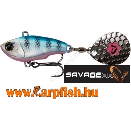 Savage Gear Fat Tail Spin Blue Silver Pink 6,5 cm 16 g