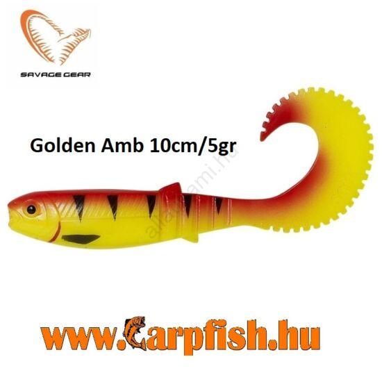 Savage Gear LB Cannibal Curltail Golden Ambulance 10cm/5g
