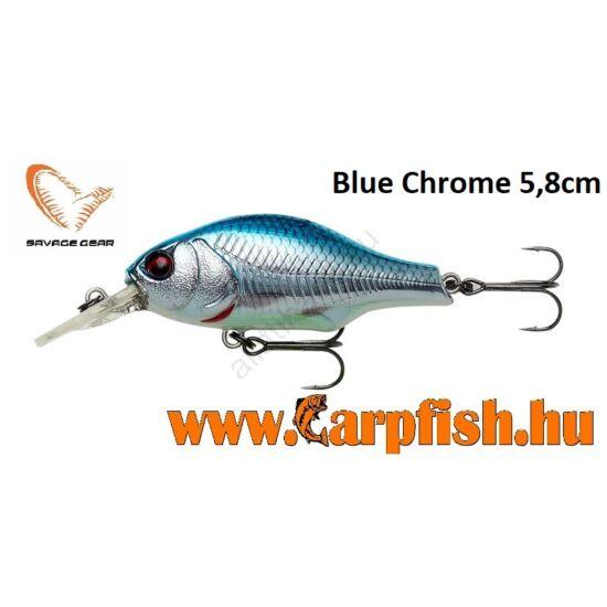 Savage Gear Gravity Crank MR 5,8 cm - Blue Chrome
