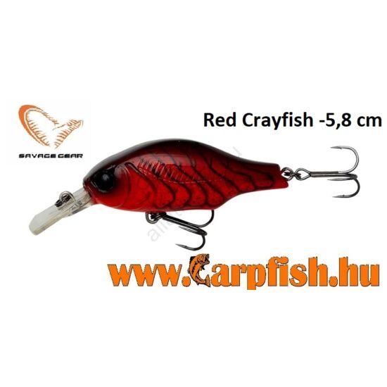 Savage Gear Gravity Crank MR 5,8 cm - Red Crayfish