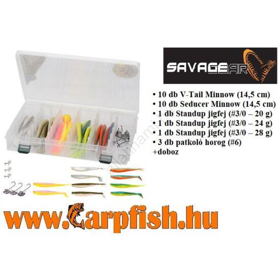 SAVAGE GEAR Vertical Kit 26 darabos vertikális készlet