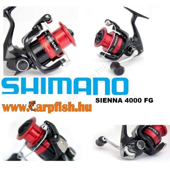 SHIMANO Sienna 4000 FG elsőfékes pergető  orsó