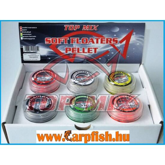 Top Mix Soft Floaters Pelletek  6 gr