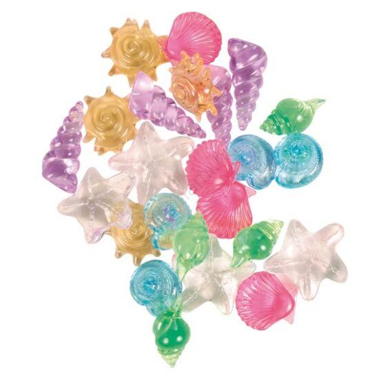Trixie 8948  színes  kagylók,csigák   24  db