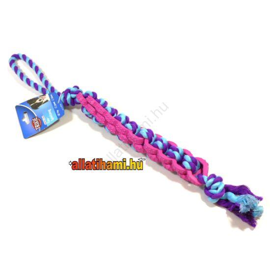 Trixie  33192 Denta Fun fonott kötél gumival    4cm/37cm