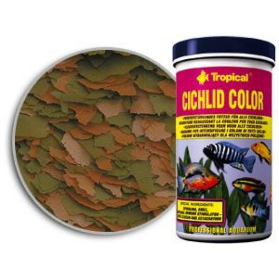 Tropical  Cichlid Color lemezes sügéreledel 150 ml