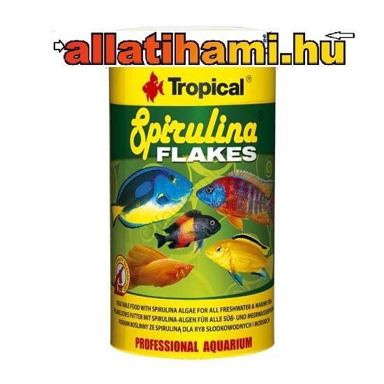 TROPICAL Spirulina Flakes   haltáp spirulinával édesvízi és tengeri halaknak  250ml/50g