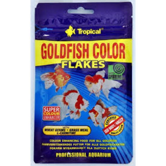Tropical Goldfish Color lemezes 12 gr