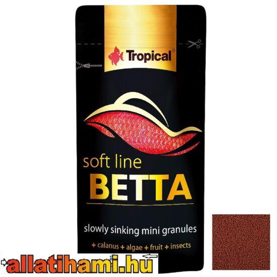 TROPICAL Betta 5g puha minigranulátum haltáp harcoshalaknak