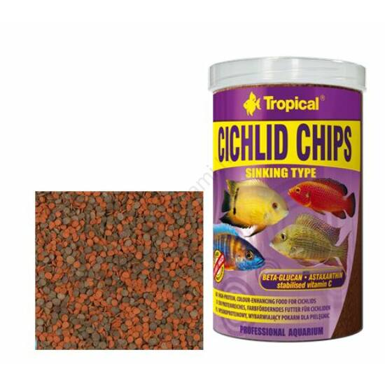 Tropical Cichlid Chips  250 ml