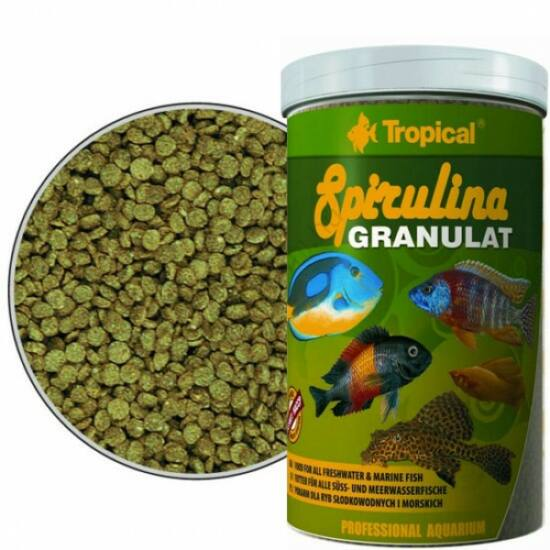 Tropical Spirulina Granulat  100 ml