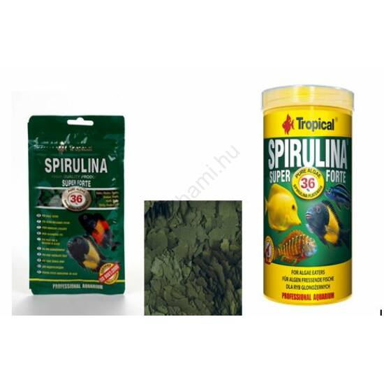 Tropical Spirulina  Flakes  150 ml