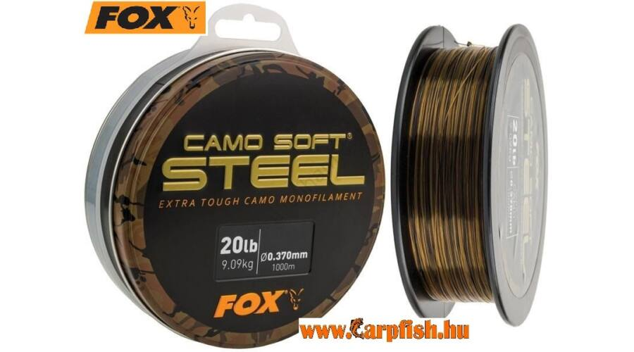 5213357bbb Fox Soft Steel Dark Camou zsínór 1000 m - Fox - allatihami