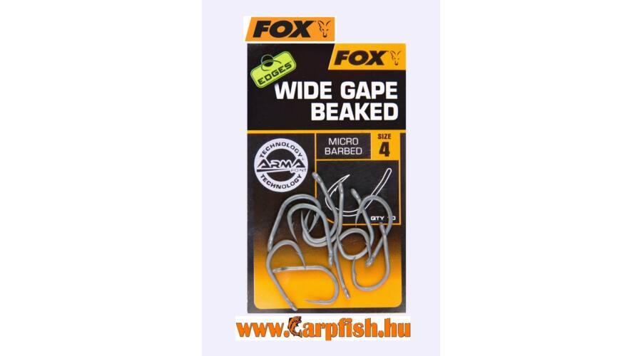 bb804fc2a8 Fox Edges Wide Gape Beaked Horog - Fox - allatihami