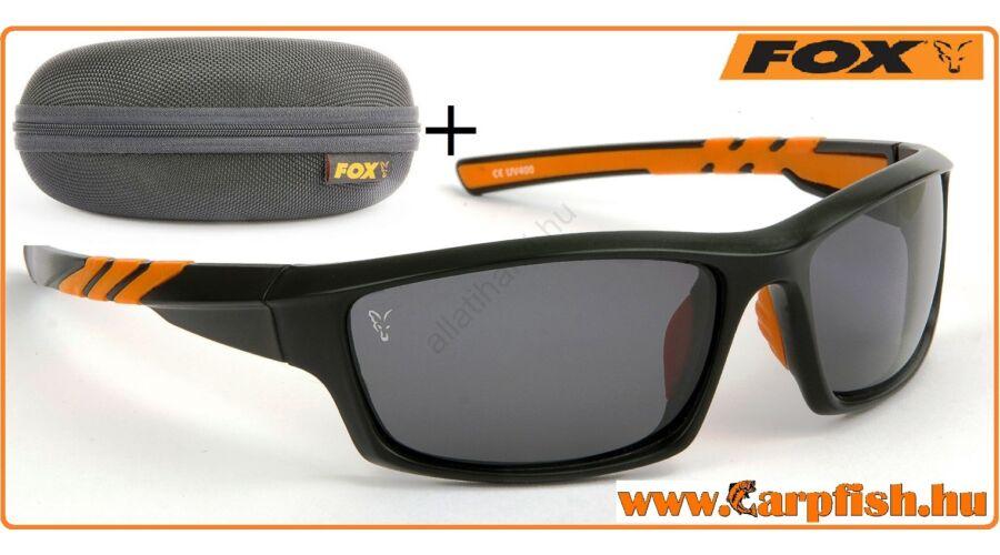 Fox Napszemüveg Fekete Orange Keret   Szürke Lencse. Katt rá a  felnagyításhoz 6d00224c2d